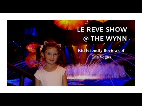 K-So Fun Kids in Vegas Pt 2 ~ Le Reve Show @ Wynn ~ Wynn Decorations ~ Chinese New Year
