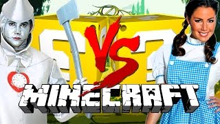Minecraft: OZ LUCKY BLOCK CHALLENGE | WIZARD BATTLES!!