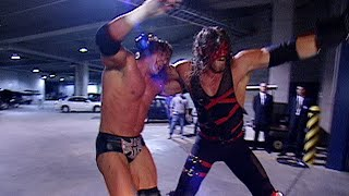 Kane chokeslams Triple H on a car: Raw, Oct. 21, 2002