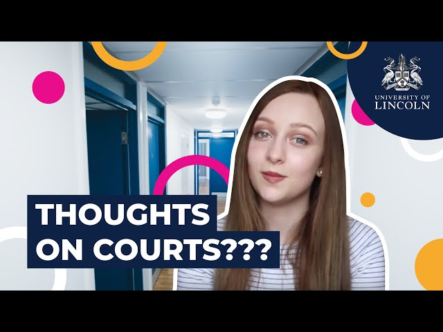 Living In Courts Accommodation Eleanor Hall University Of Lincoln
