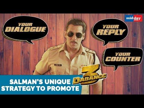 Salman Khan chose this unique strategy to promote Dabangg 3