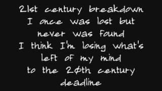 Song of the Century/21st Century Breakdown lyrics
