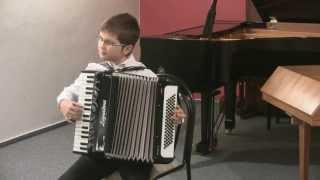 Podzimní koncert 26.11. 2013 - 7. Matěj Kotala (akordeon)