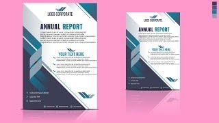 Coreldraw X7 Tutorial - Professional Flyer Design #6 By Design Center