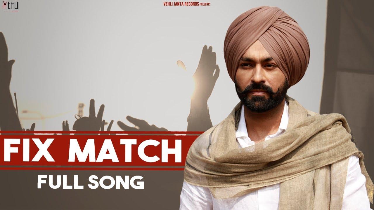 Fix Match| Tarsem Jassar Lyrics