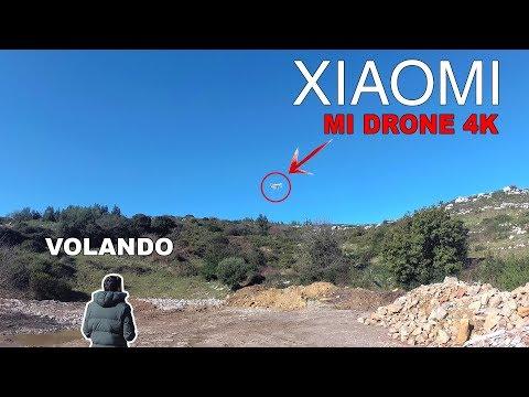 Volando el Xiaomi Mi Drone 4K en el exterior