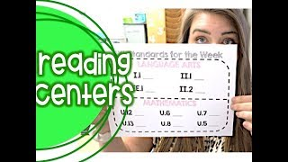 Reading Centers, Writing, & More | Day In The Life Of A Third Grade Teacher