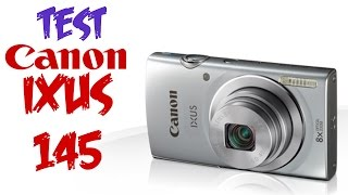 Test Canon IXUS 145