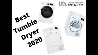 Best Tumble Dryers to buy in 2020 - Quick review & guide