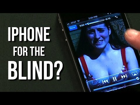 How A Blind Man Uses The iPhone