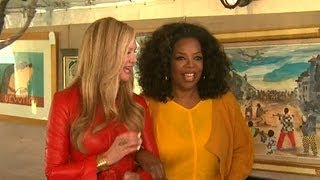 Oprah cleans house for charity auction
