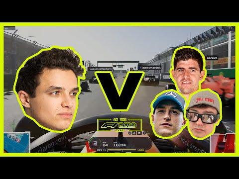 Image: Watch: Lando Norris' highlights from the Not the Australian Grand Prix