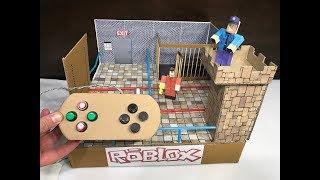 Roblox. Jailbreak. Cardboard game. DIY