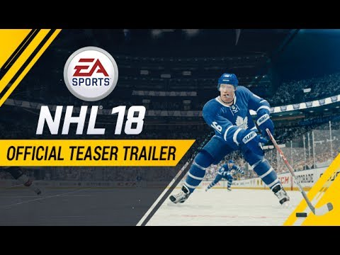 NHL 18| Official Teaser Trailer | Xbox One, PS4 thumbnail