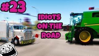 American Truck Simulator Multiplayer: Idiots on the Road | Random & Funny Moments | #23