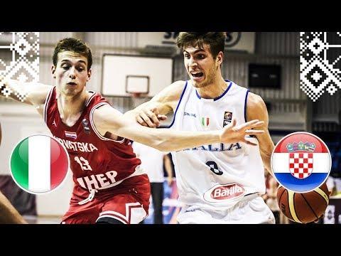 Italy v Croatia – Full Game – FIBA U18 European Championship 2018