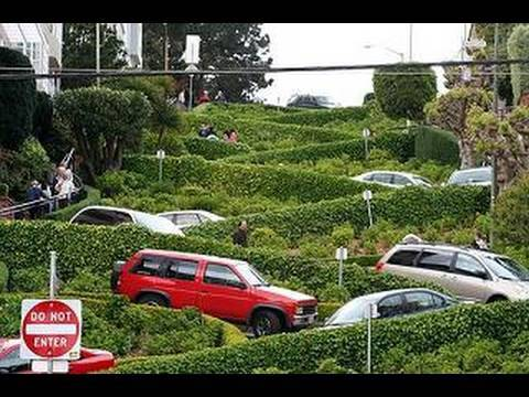 San Francisco's Lombard Street (in HD)