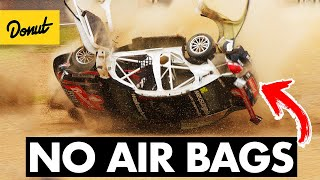 Why Race Cars Don't Have Airbags