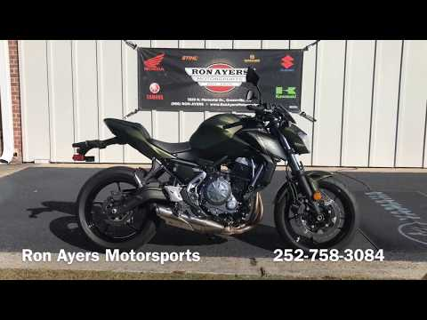2018 Kawasaki Z650 ABS in Greenville, North Carolina - Video 1