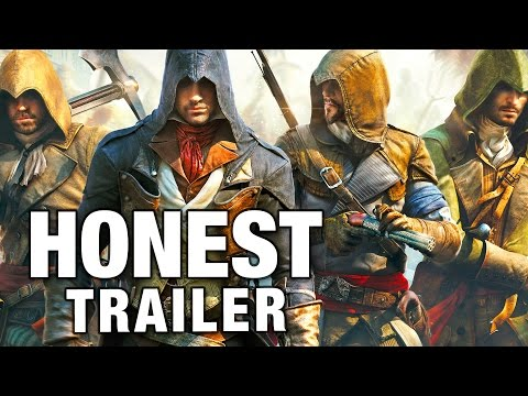 ASSASSIN'S CREED UNITY (Honest Game Trailers)