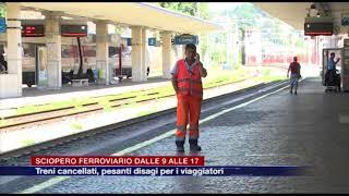 Etg - Sciopero Ferroviario Dalle 9 Alle 17. Treni Cancellati, Pesanti Disagi Per I Viaggiatori