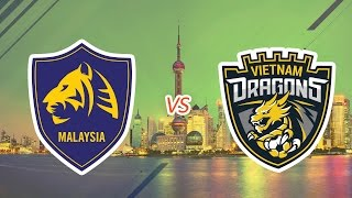[24.07.2016] Malay Tigers vs VietNam Dragons [EACC 2016 - Tranh 3-4]