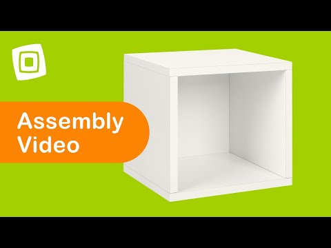 Video for Eco Friendly Espresso Modular Storage Super Cube