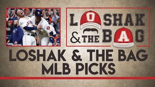 Free MLB Picks & Astros vs. Dodgers Preview | Loshak & the Bag Tuesday 10/31