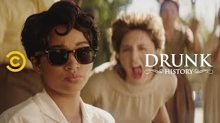 The Little Rock Nine Take on Segregation in Schools (feat. Amandla Stenberg) - Drunk History