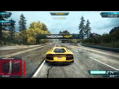 Видео № 2 из игры Need for Speed Most Wanted 2012 (Англ. Яз.) (Б/У) [X360]