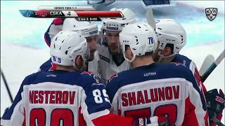 2019 Gagarin Cup, CSKA 4 HC Dynamo M 0, 17 March 2019 (Series 2-1)