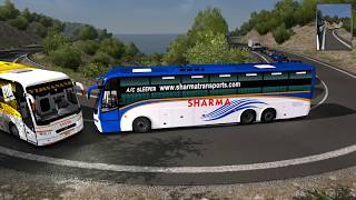 🔴 Truck Accident Vs Bus [Live] | Reckless Driving Bus Overtaking Fail