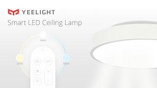 Xiaomi Yeelight Smart LED Ceiling Lamp - подключение и тестирование потолочного светильника
