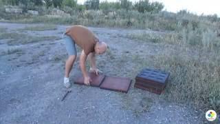 Укладка резиновой плитки видео