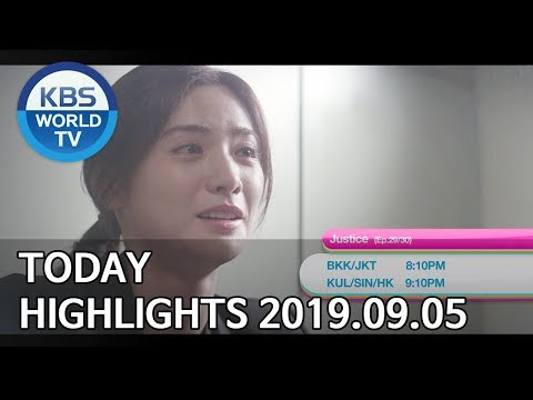 Today Highlights-Deokhwa's Coffeehouse/A Place in the Sun E62/Justice E29-30 [2019.09.05]