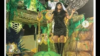 Mara Maravilha desfila no Carnaval, é criticada por internautas e recebe apoio de Soraya Morais