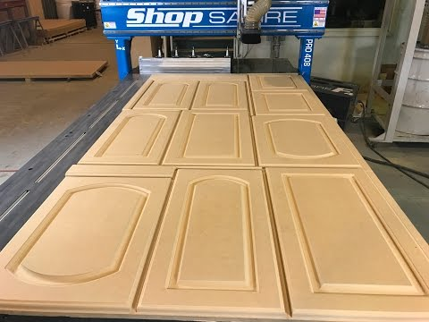 ShopSabre CNC – MDF Door Productionvideo thumb