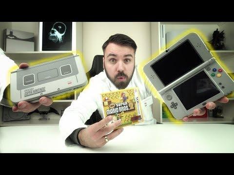DIE NEUE EDITION des New Nintendo 3DS XL (Super Nintendo Edition) Die Pro Version von Nintendo