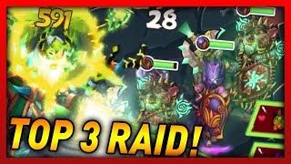 Knights and Dragons - MY MOST INSANE RAID LINEUP! Bewitched Centaur EARTH/AIR Raid!