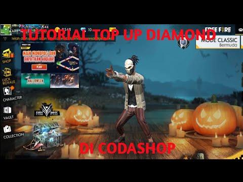 Tutorial top up Free fire di Codashop dan give away caranya ada di deskripsi