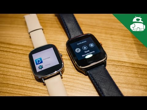 ASUS Zenwatch 2 First Look