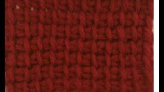 Tunisian Crochet Afghan Stitch