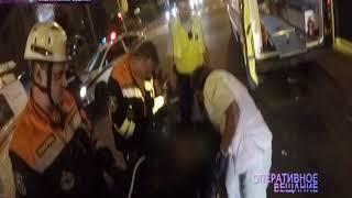 ВИДЕО: Мотоциклист погиб, влетев в «Киа» на перекресте в Ярославле
