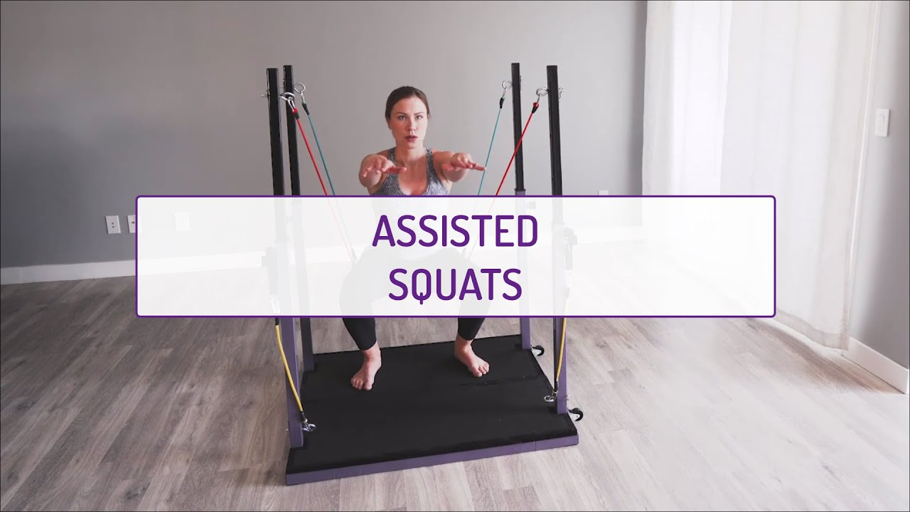 Assisted Squats