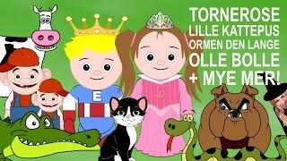 Barnesanger - Tornerose, Lille kattepus, Mikkel Rev m.m. | 44 min.