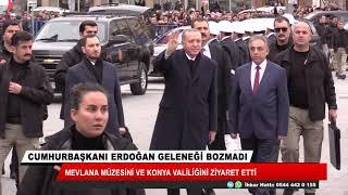 Cumhurbaşkanı Erdoğan, Mevlana Türbesini ziyaret etti