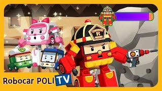 POLI Game | Break the Concrete! | for Kids | Robocar POLI