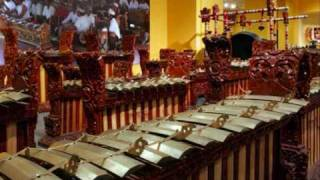 Gamelan music instrument from Indonesia