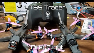 TBS Tracer vs Crossfire. Tracer first packs back to back.
