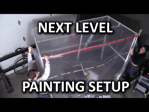 DIY Paint Booth Construction Project!